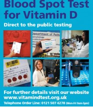 blood spot test for vitamin D (nhs)
