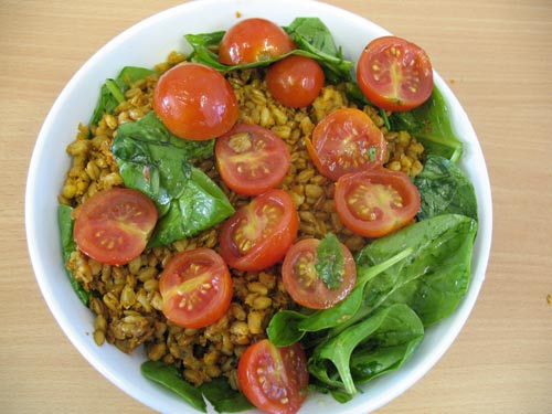 Merchant Gourment spelt with SunBlush tomatoes