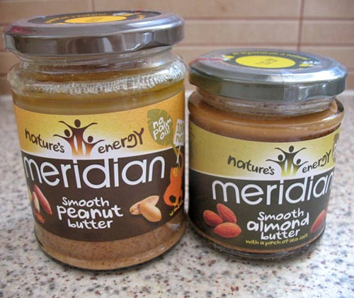 Nut butters from Meridian