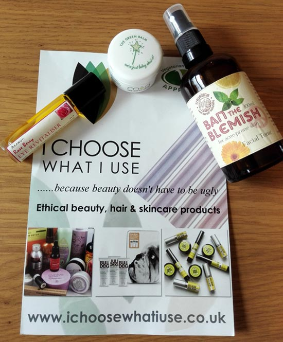 Natural beauty: I Choose What I Use + Discount Code