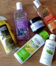 Recent natural beauty empties