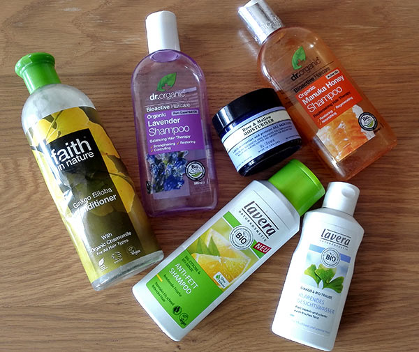 My recent natural beauty empties
