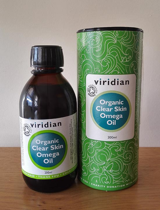 Viridian Clear Skin Omega Oil review