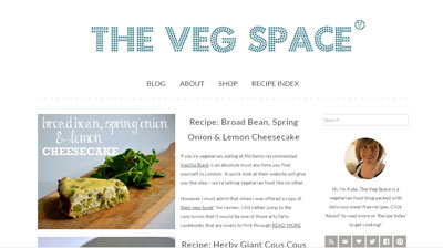 The Veg Space vegetarian blog