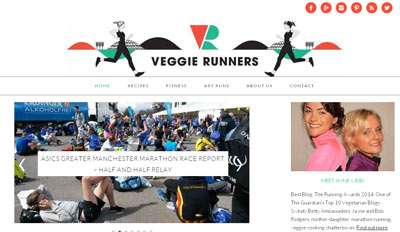 Veggie Runners blog