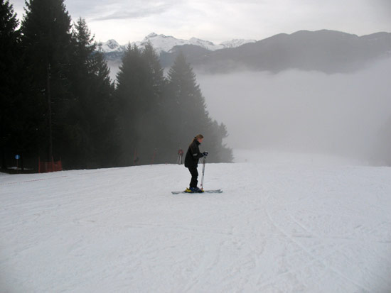 The last time I skied