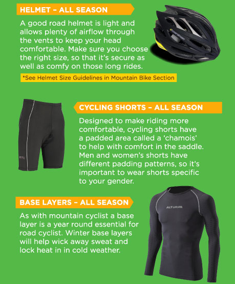 Cycling essentials for comfort and safety