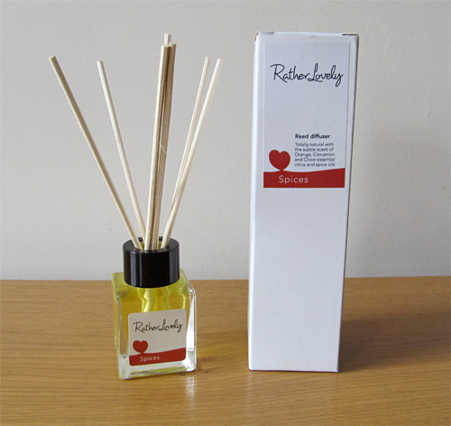 Love Spices natural reed diffuser