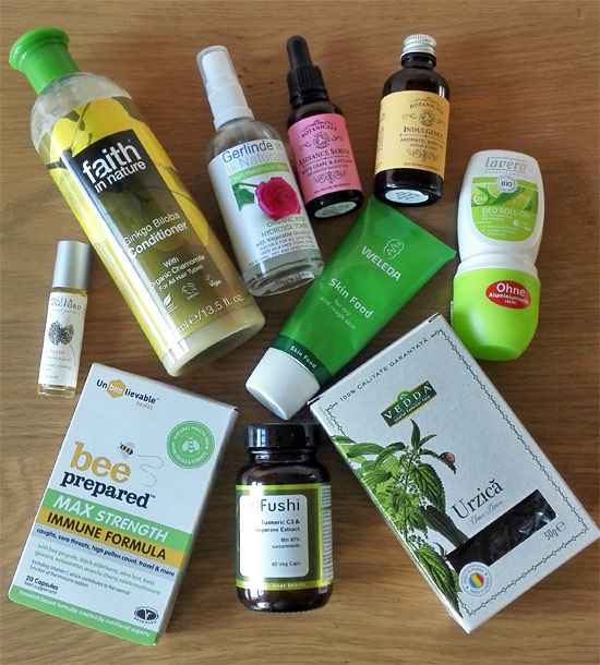 My latest health & beauty buys