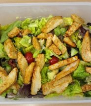 healthy Quorn salad