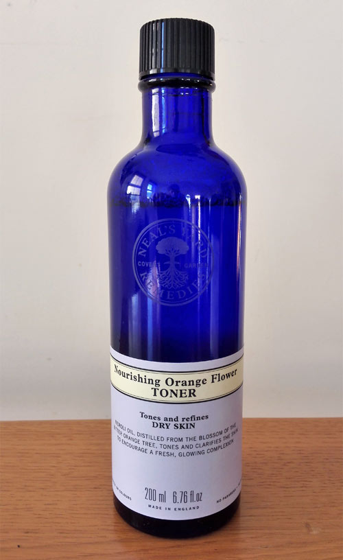 Nourishing Orange flower toner from Neal's Yard Remedies