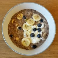 Banana & Blueberry Chia Pudding