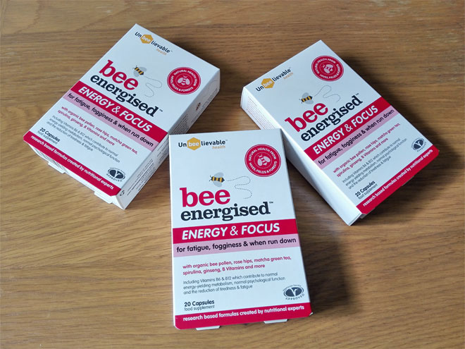 bee energised energy focus
