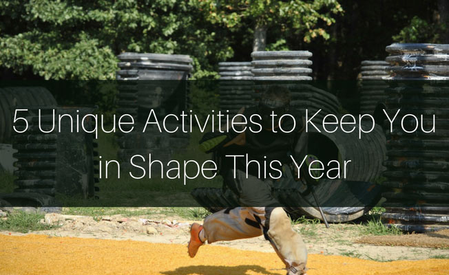 5 UNIQUE FITNESS ACTIVITIES