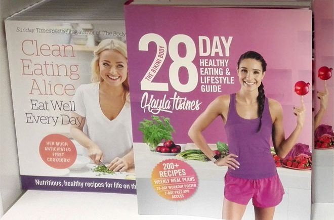 healthy eating books: Clean Eating Alice and Kayla 28 day