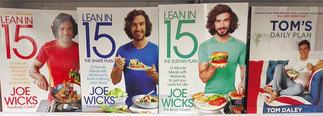 joe wicks healthy eating books