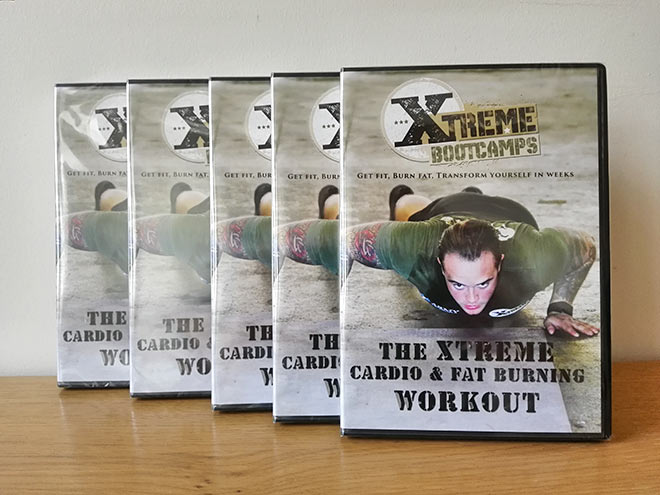 xtreme cardio fat burning workout dvd