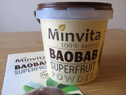 minvita baobab fruit powder
