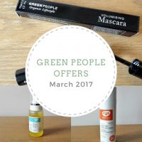 Exclusive offers from Green People this March