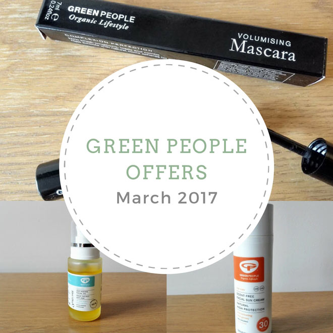 green people offers March 2017
