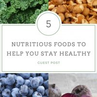 Top 5 nutritious foods to help you stay healthy