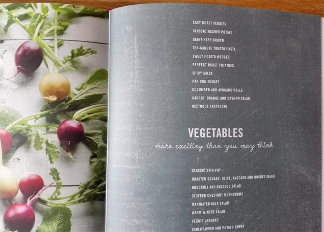 vegetables recipes from deliciously ella cookbook