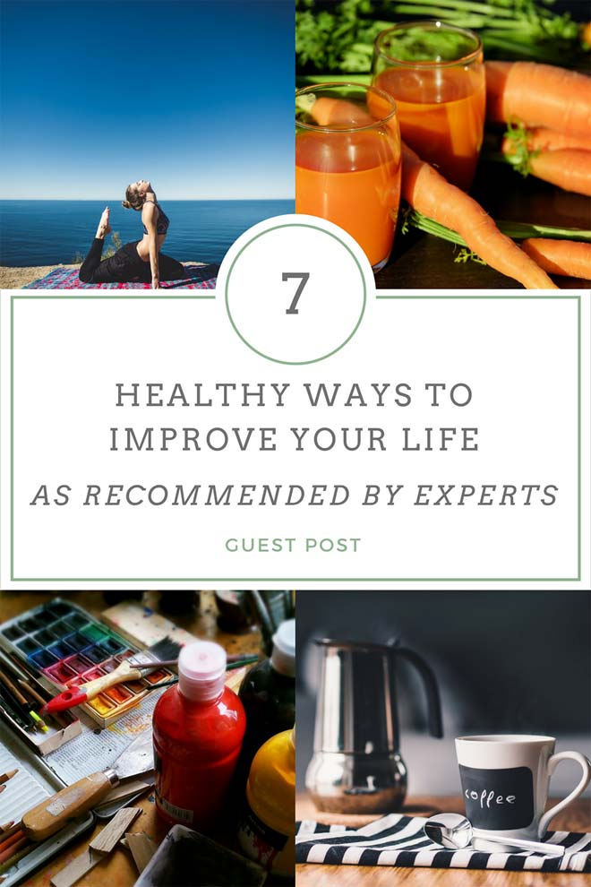 healthy ways to improve your life