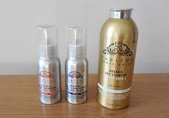 tabitha james kraan organic hair care products