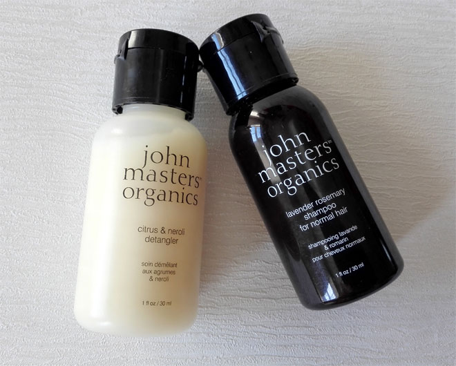 john masters organics travel sizes