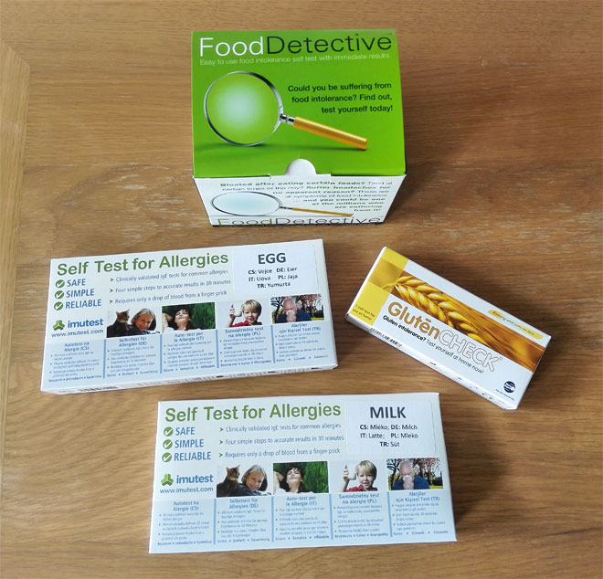 Selfdiagnostics UK home tests for food allergies and intolerances