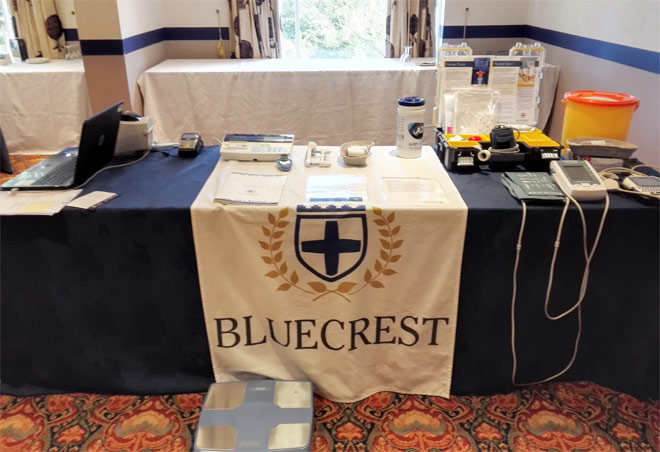 bluecrest health screening