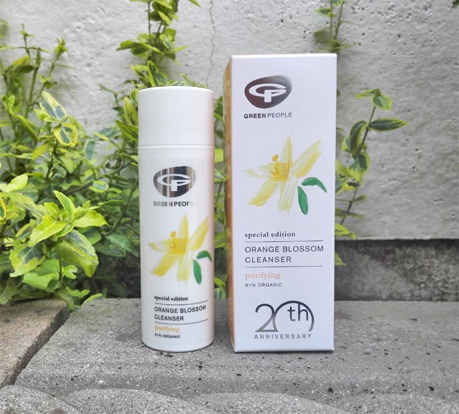 Green People Orange Blossom Cleanser