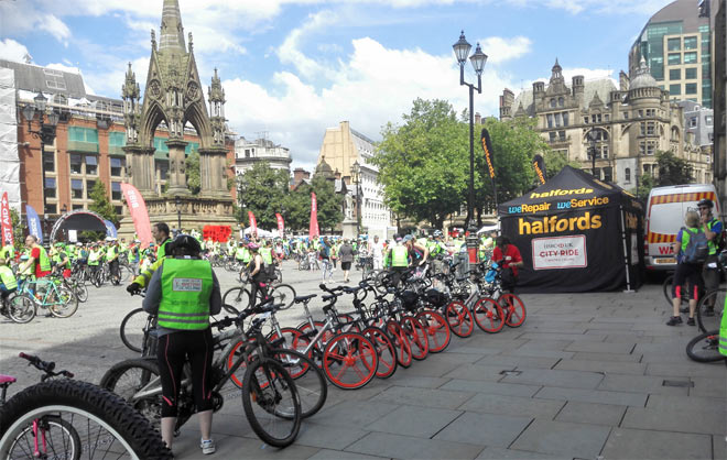 mobikes on albert square