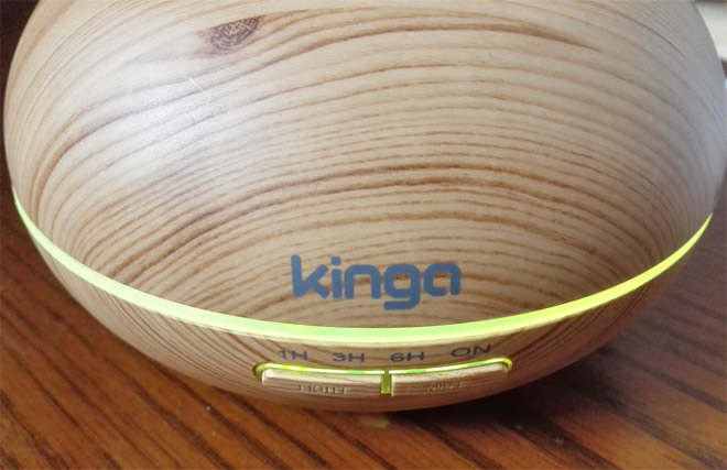 kinga aroma diffuser all options on