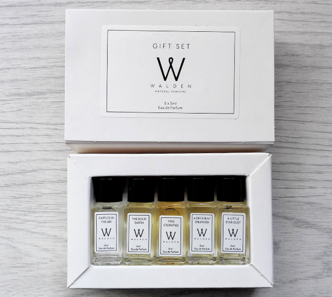 Walden natural perfumes - gift set