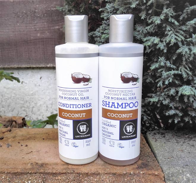 urtekram organic coconut shampoo conditioner