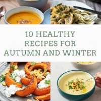 10 healthy recipes for autumn and winter