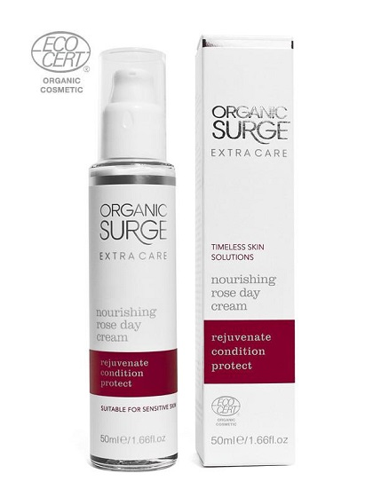 natural face cream rose from organic surge