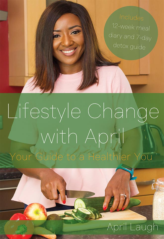 lifestyle change with april book