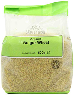 Organic bulgur wheat - Suma
