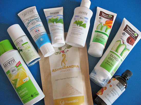 Holiday beauty (and health) products