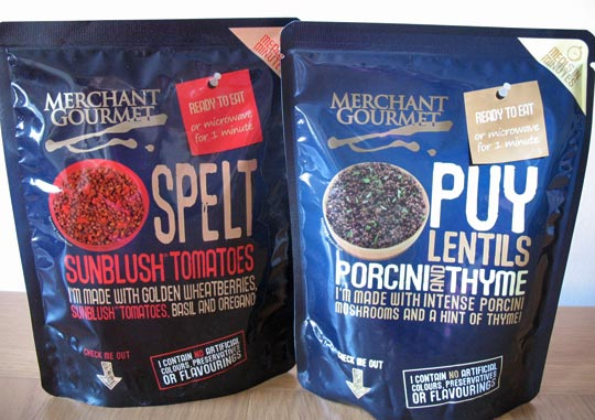 Merchant Gourmet ready-to-eat grains