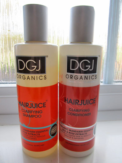 Introducing DGJ Organics haircare