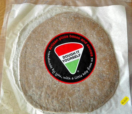 Dough It Yourself Artisan Wholemeal Pizza Base