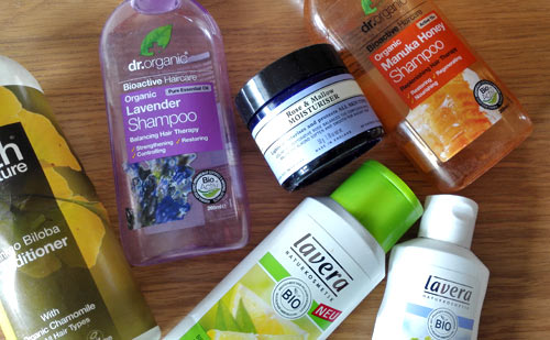 Natural beauty empties close up