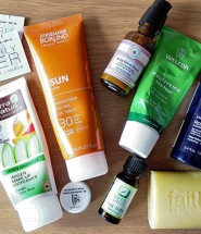 Natural skincare for holiday