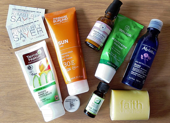 Health and beauty essentials for a week long holiday abroad