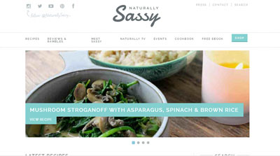 Naturally Sassy Vegan Blog