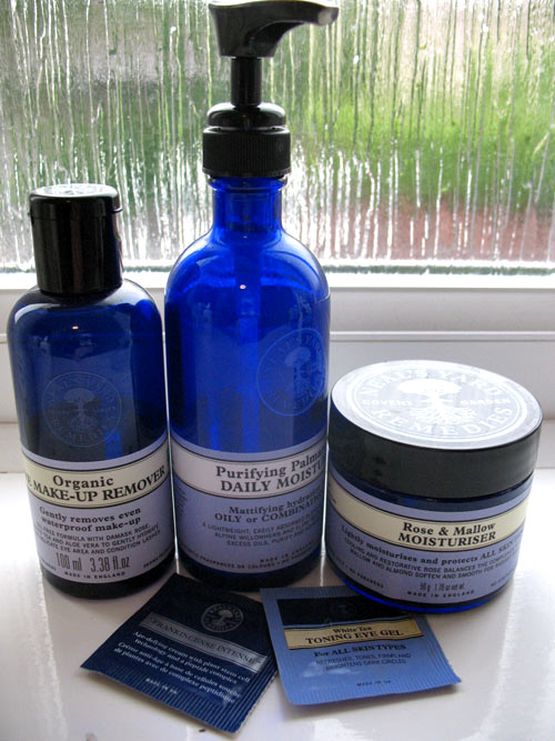 Neal's Yard beauty products