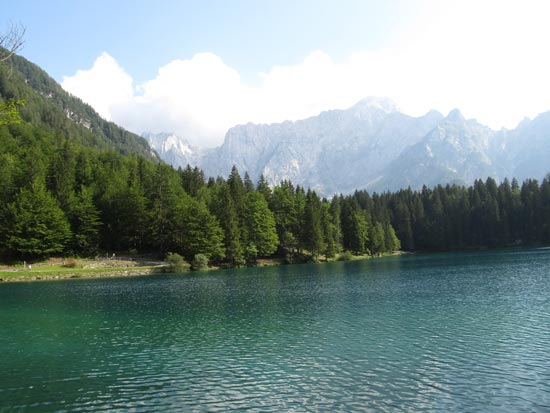 One of the Italian lakes - Lagho di Fusine